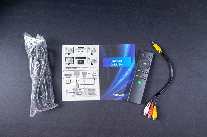 Blitzwolf BW-VP9 projektor teszt – vigyél haza egy mozit! 3