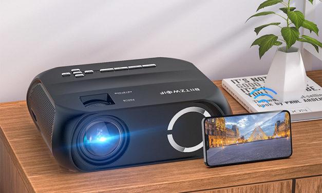 Blitzwolf BW-VP11 projektor – brutál fényerő elképesztő áron