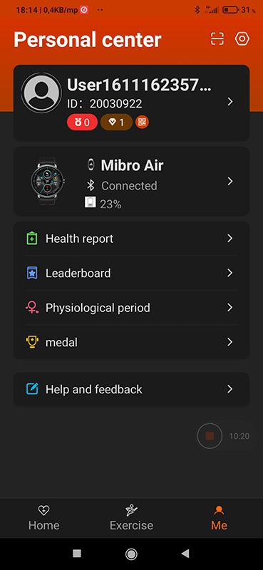 Okosóra vagy okoskarkötő – Xiaomi Mibro Air teszt 9