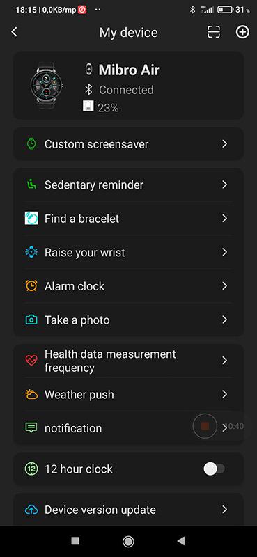 Okosóra vagy okoskarkötő – Xiaomi Mibro Air teszt 10