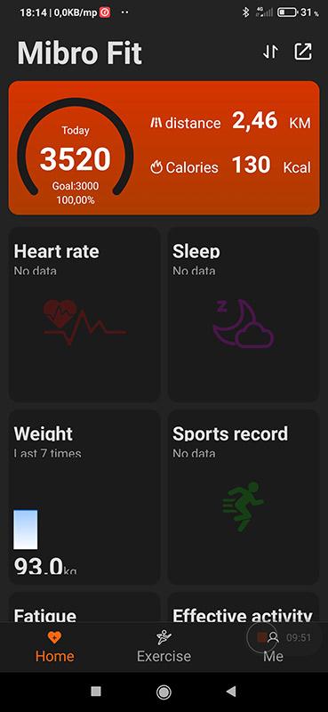 Okosóra vagy okoskarkötő – Xiaomi Mibro Air teszt 12