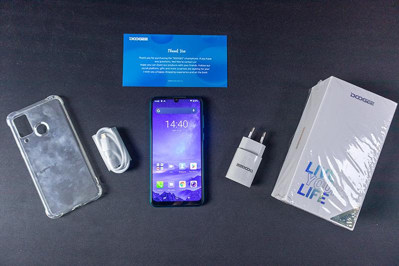 Gyönyörű mobil sok kamerával 40 ezer alatt – DOOGEE N20 Pro teszt 3