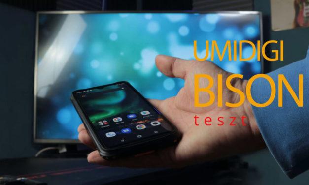 Umidigi Bison teszt – a legelegánsabb strapatelefon