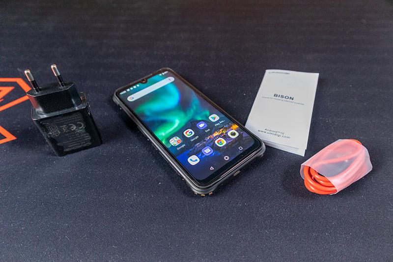 Umidigi Bison teszt - a legelegánsabb strapatelefon 3