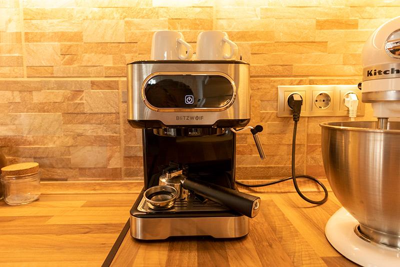 Olasz kávézó a konyhádban? BlitzWolf kávéfőző teszt 15