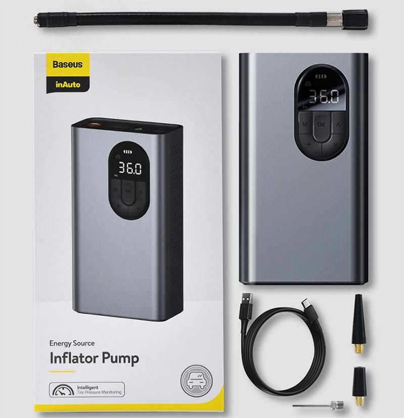 Xiaomi Baseus elektromos pumpa – ezzel fújhatod! 3