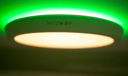 BlitzWolf BW-CLT1 okos plafonlámpa – gyanúsan olcsó!