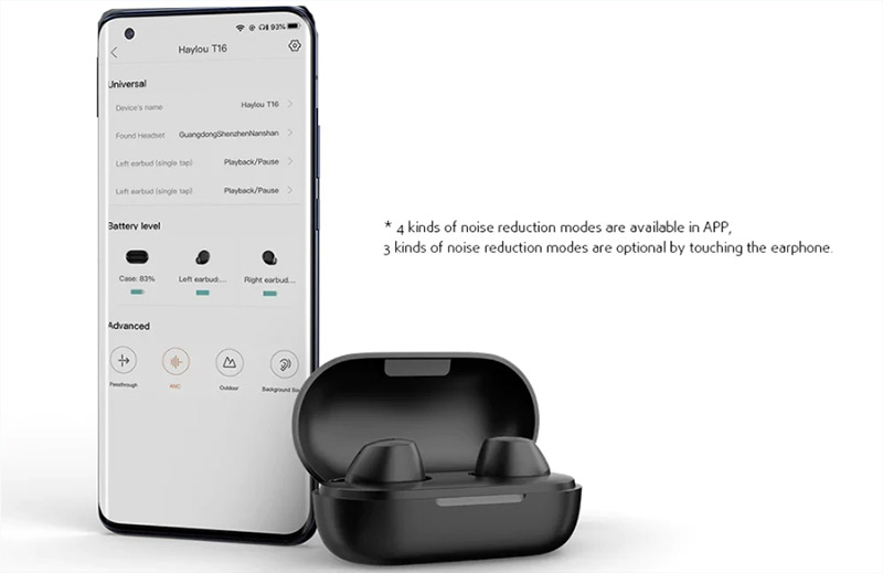 Xiaomi Haylou T16 fülhallgató teszt – zajszűrés és basszus 8