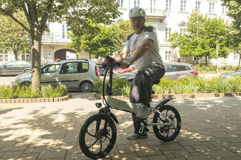 A városi vagány - ADO A20 elektromos bringa teszt 33