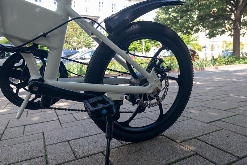A városi vagány - ADO A20 elektromos bringa teszt 6