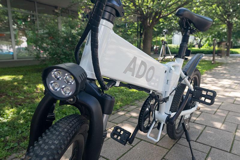 A városi vagány - ADO A20 elektromos bringa teszt 12
