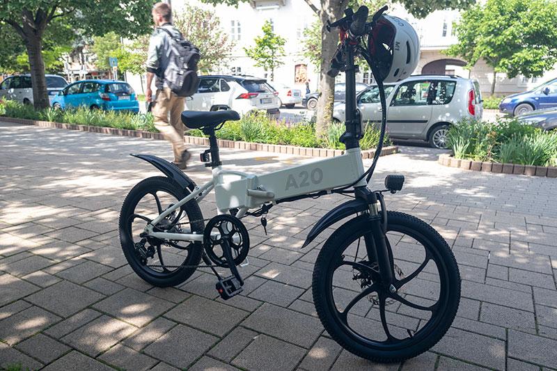 A városi vagány - ADO A20 elektromos bringa teszt 30