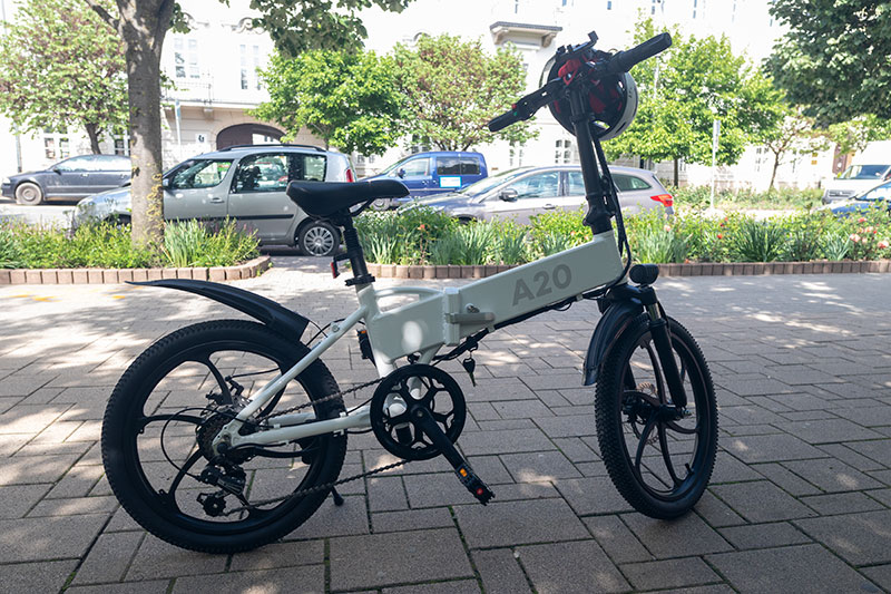 A városi vagány - ADO A20 elektromos bringa teszt 8