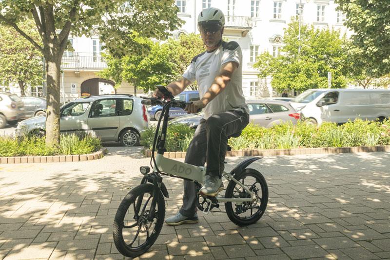 A városi vagány - ADO A20 elektromos bringa teszt 19