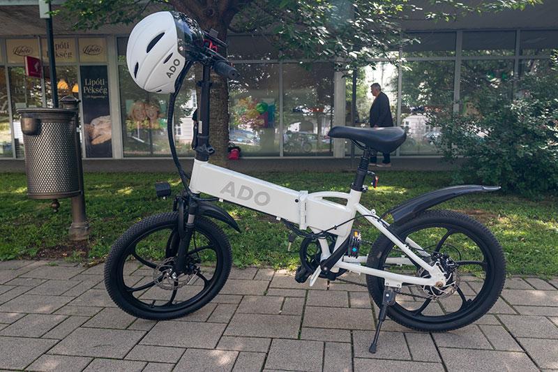 A városi vagány - ADO A20 elektromos bringa teszt 11