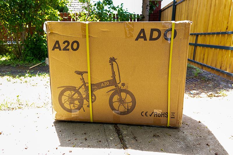 A városi vagány - ADO A20 elektromos bringa teszt 2