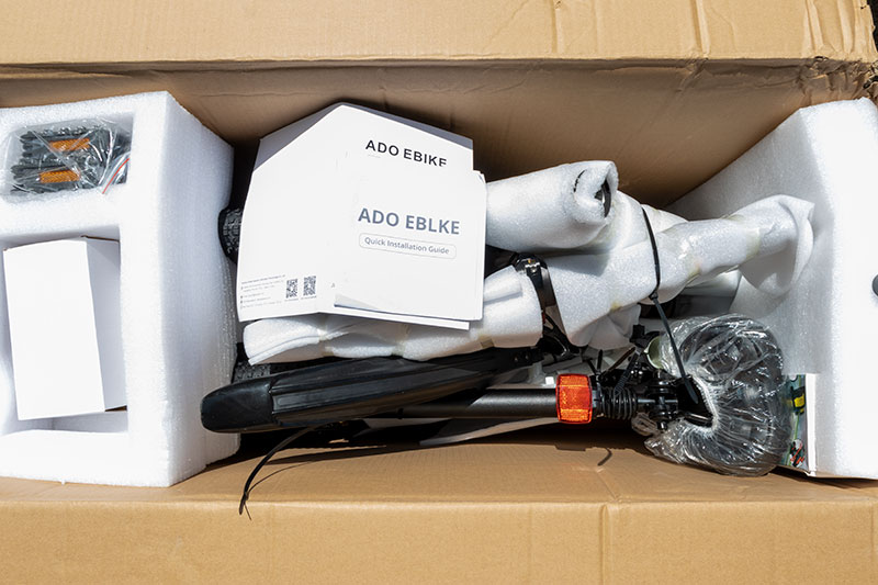 A városi vagány - ADO A20 elektromos bringa teszt 3