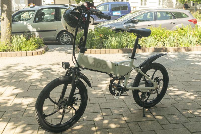 A városi vagány - ADO A20 elektromos bringa teszt 20