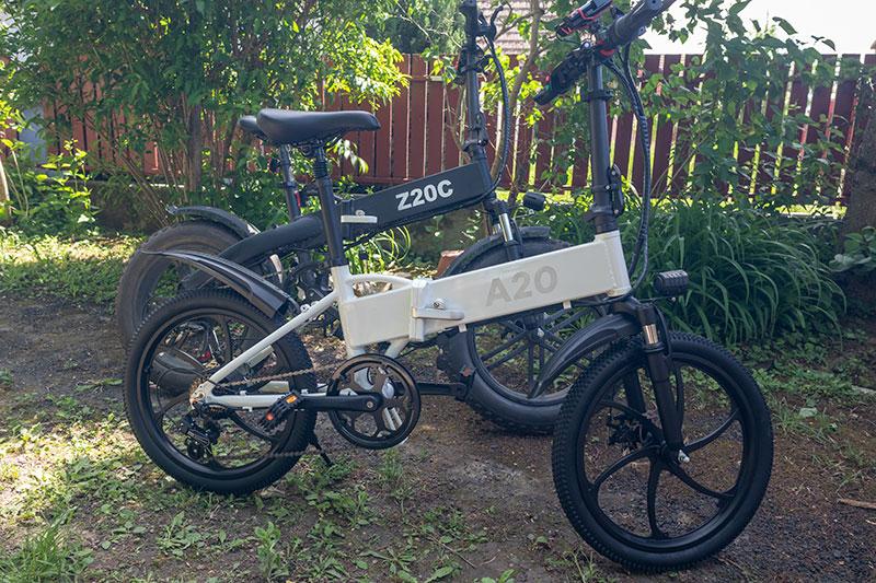 A városi vagány - ADO A20 elektromos bringa teszt 27