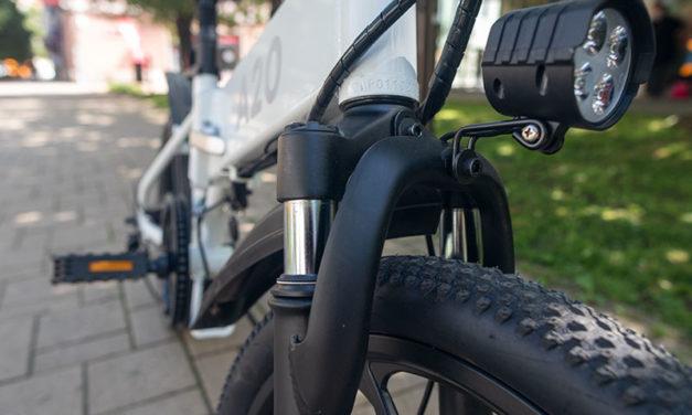 A városi vagány – ADO A20 elektromos bringa teszt