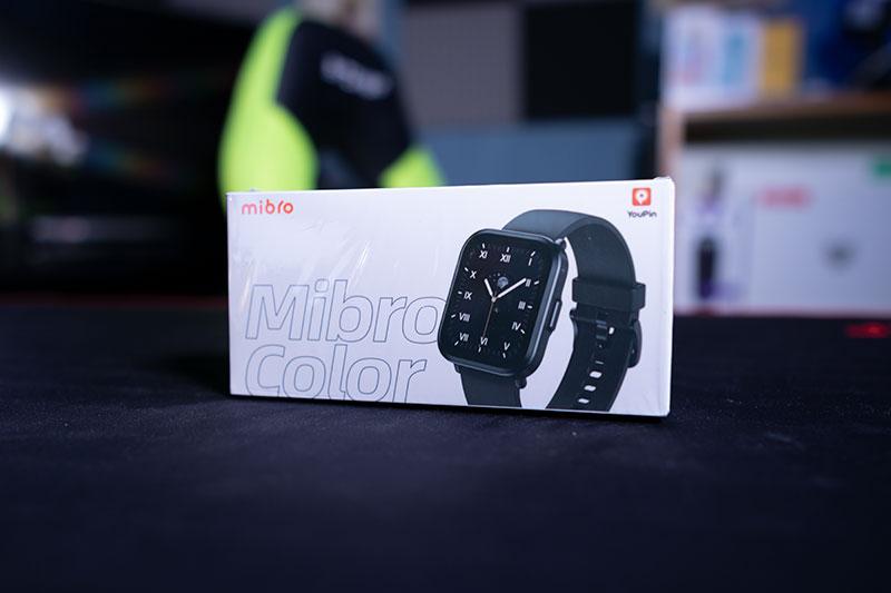 Az olcsó szögletes - Mibro Color okosóra teszt 3