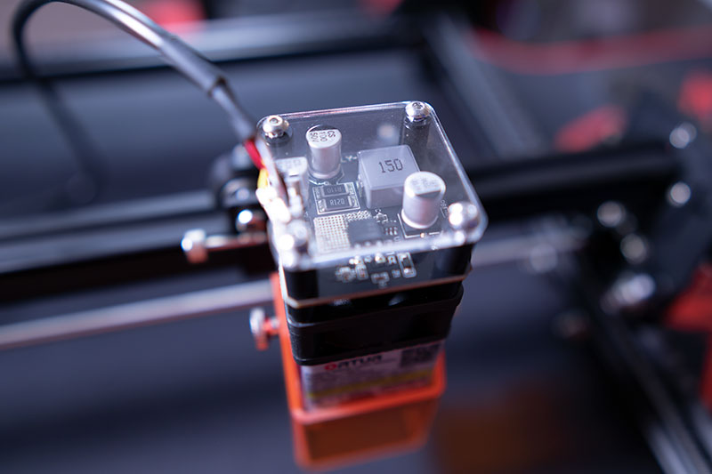 Ortur Laser Master 2 Pro – Ben Kenobi sárgul az irigységtől 9