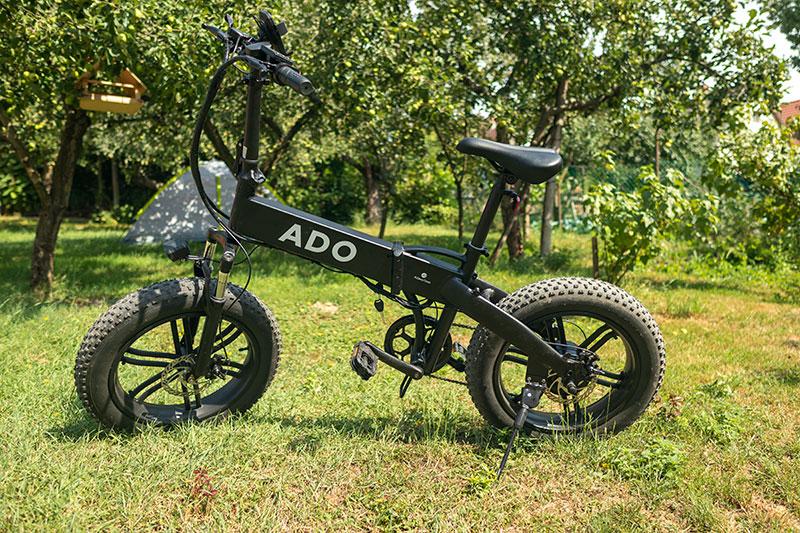 Kipróbáltuk - ADO A20F, vadállat elektromos bringa 36