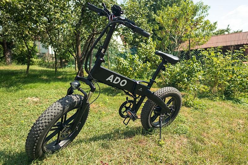 Kipróbáltuk - ADO A20F, vadállat elektromos bringa 6