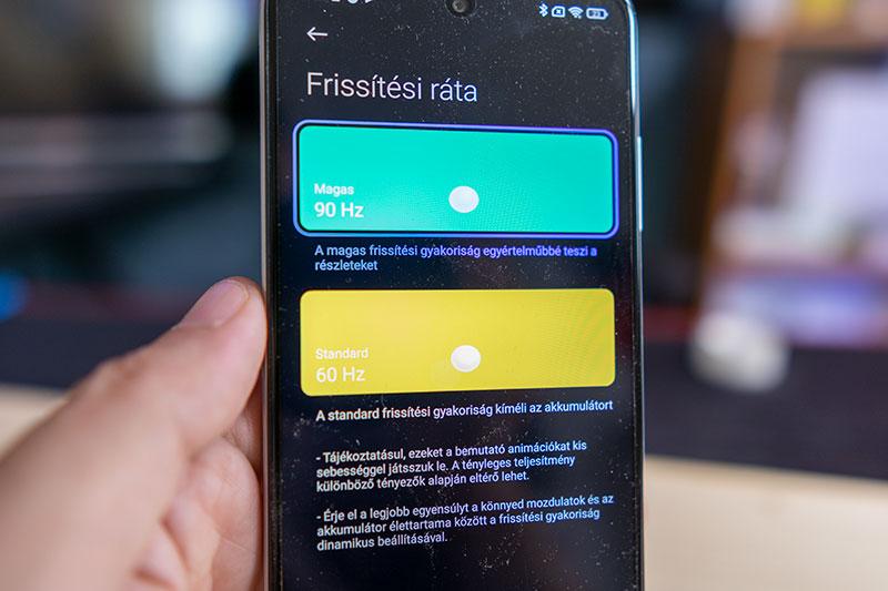 Fényévekre az elődtől – Xiaomi Redmi 10 telefon teszt 13