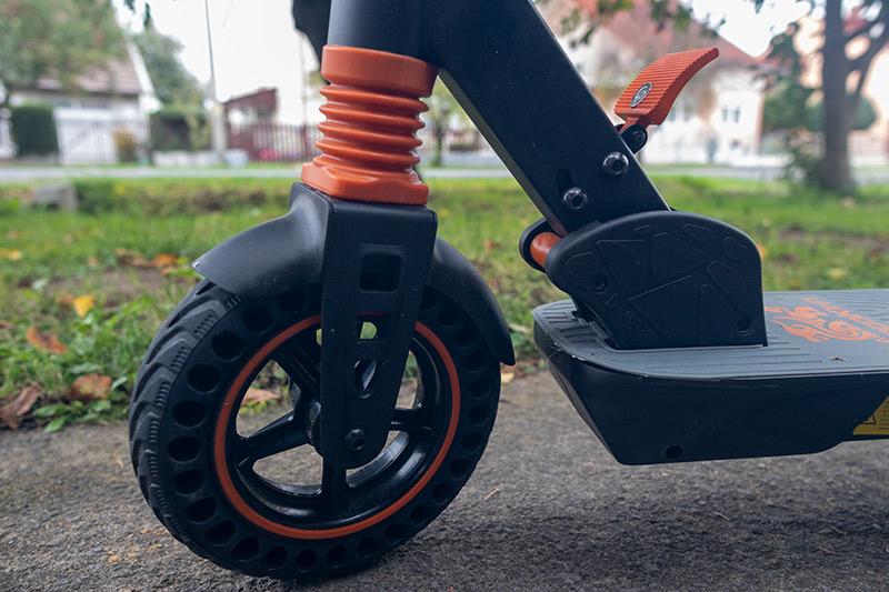 KugooKirin S1 Pro – olcsó e-roller, ami megfelel a szabályoknak 5