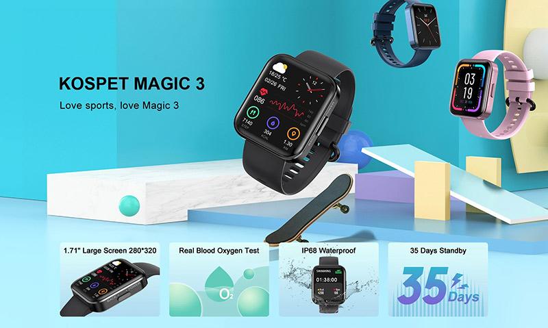 Kospet Magic 3 – varázslatos okosóra 10 ezerért? 5