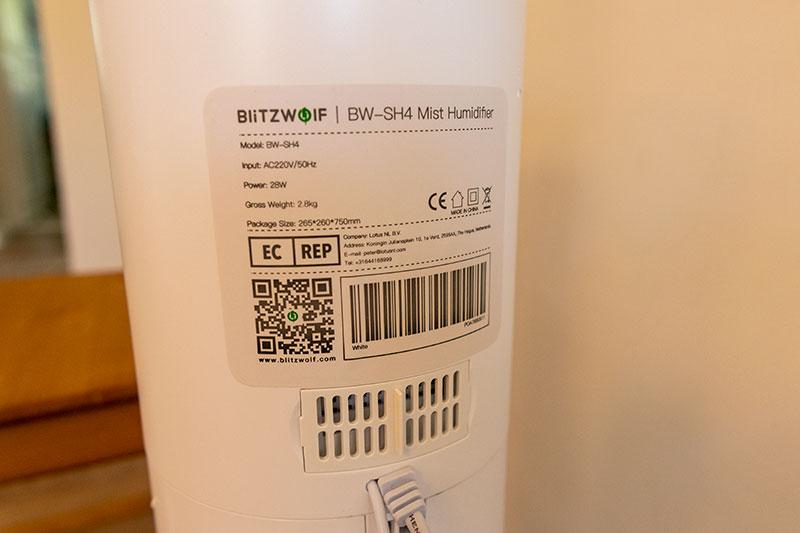 BlitzWolf BW-SH4 – brutál párásító kevés pénzből 1