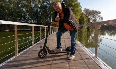 Eleglide S1 Plus – élhető, olcsó elektromos roller a mindennapokra